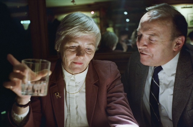 , 'My Mother and Father at the Bar, London,' 1990, Aperture Foundation