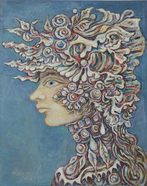 Renee Portocarrero, 'Flora in Blue', 1968, Hieronymus