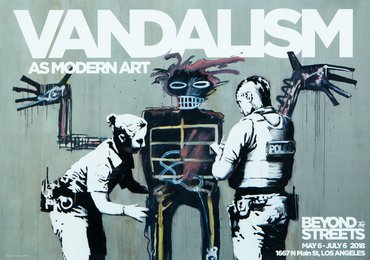 Vandalism as Modern Art