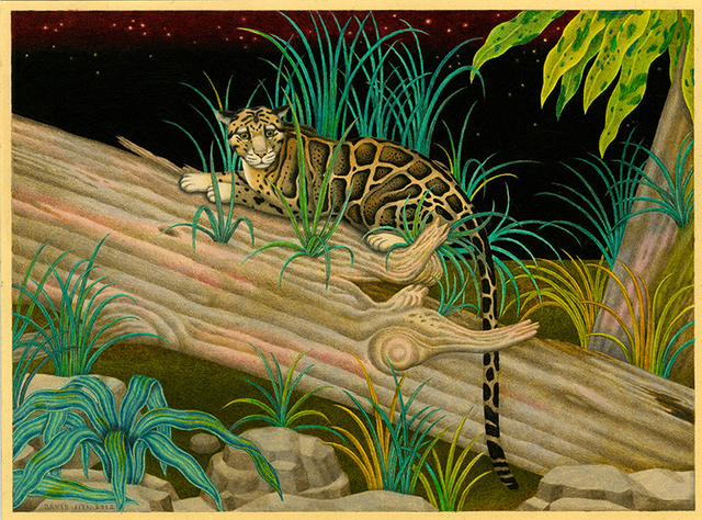 , 'Clouded Leopard,' 2012, Richard Heller Gallery