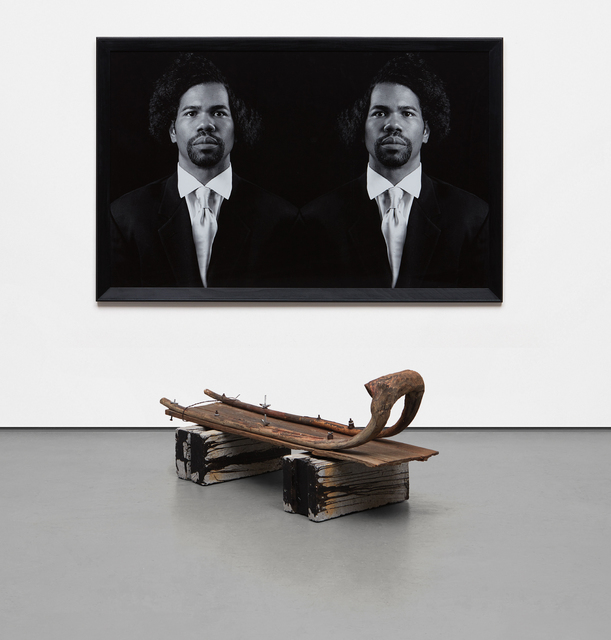 Rashid Johnson, 'The New Negro Escapist Social and Athletic Club (Emmett)', 2008, Phillips