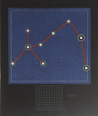 , 'Max Planck Constellation (part of diptyh),' , pop/off/art