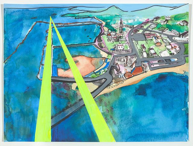 , 'Henoko Flight Path, Oura Bay, Okinawa, Japan (Version 1),' 2019, FLXST Contemporary