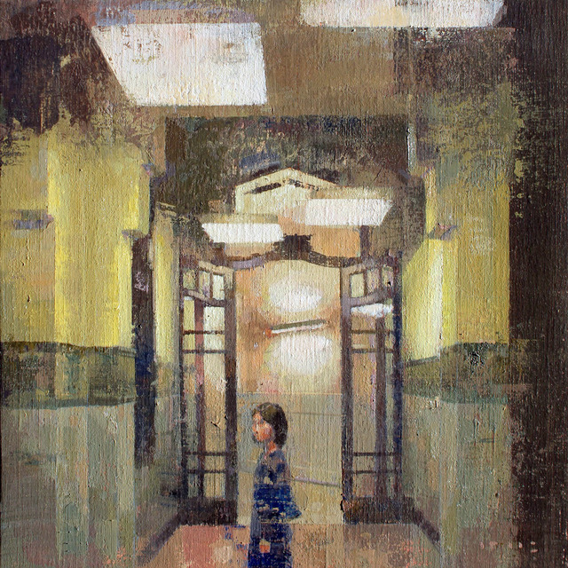 , 'Dins el Conservatori,' 2017, GALERIA JORDI BARNADAS