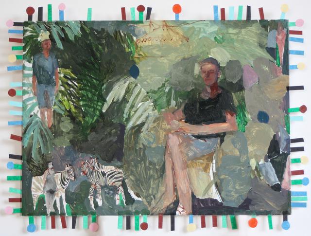 , 'Desayuno en el trópico, rey y bufón,' 2018, Galeria Contrast