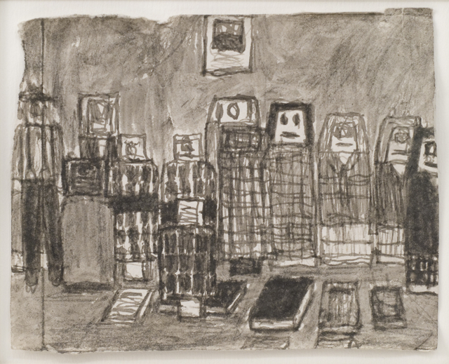 , 'Untitled (Friends with books),' n.d., Fleisher/Ollman