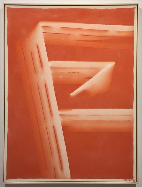 , 'Untitled (09092015 burnt orange),' 2015, Eleanor Harwood Gallery
