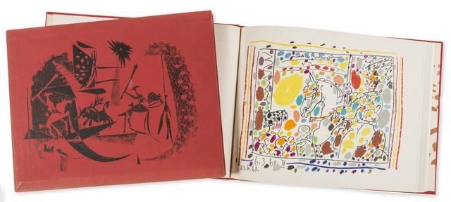 Pablo Picasso, 'A Los Toros avec Picasso, by Jaime Sabartés (Bloch 1014-47; Cramer Books 113)', 1961, Forum Auctions
