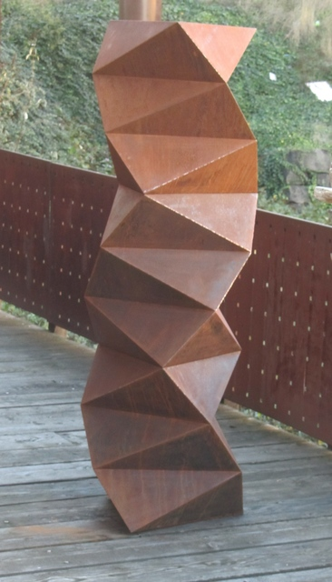 Peter Millett, 'TWIST', 2016, Sculpture, Corten steel, Greg Kucera Gallery