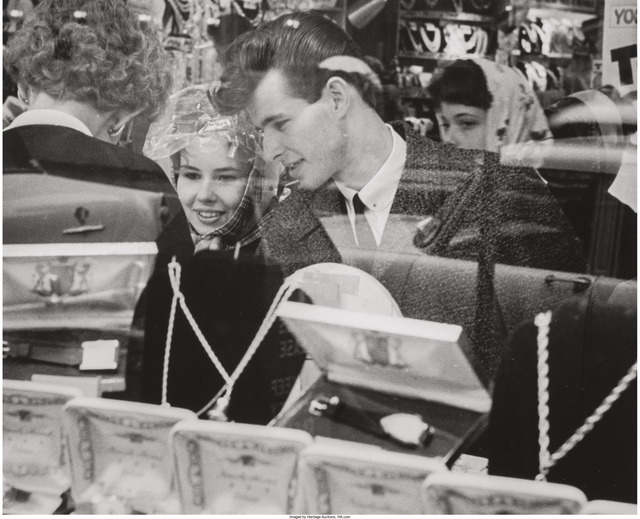 Joseph Sterling, 'Untitled (Couple at a jewelry store)', 1961, Heritage Auctions