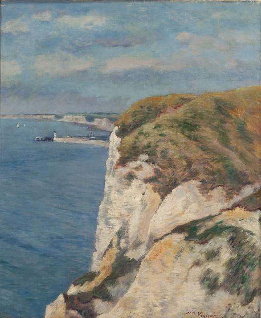 , 'Les Falaises,' , Trinity House Paintings