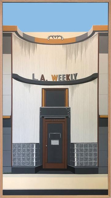 , 'La Weekly,' 2019, Timothy Yarger Fine Art
