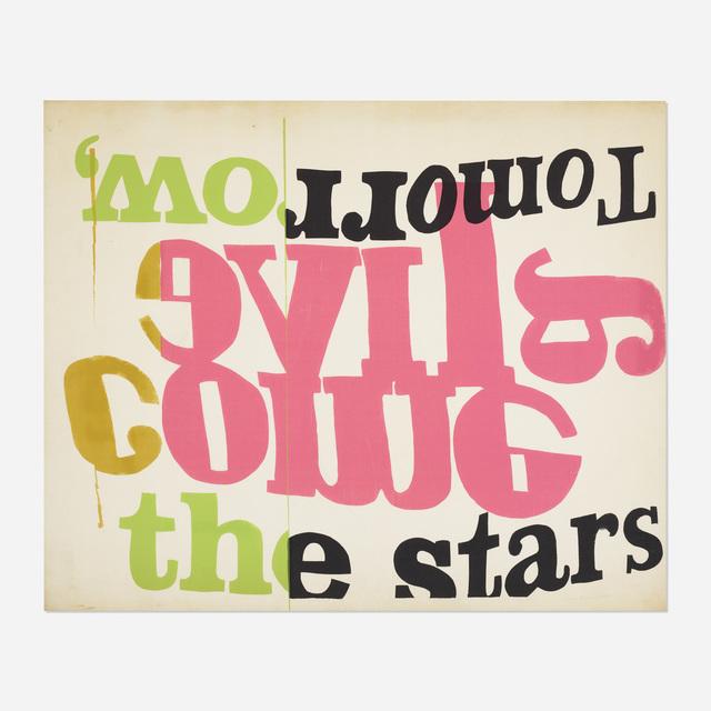 Corita Kent, 'Tomorrow the Stars', 1966, Wright