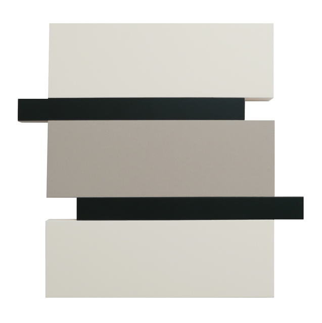 , 'Stack - White, Canvas, Black,' 2016, Peter Blake Gallery