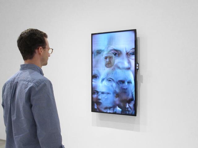 Jason Salavon, 'faceØff (v. Inman)', 2019, Inman Gallery