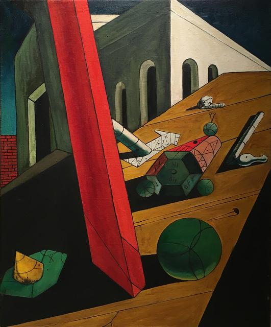 , 'Not de Chirico (The Evil Genius of a King 1914-15),' 1990, Francis M. Naumann Fine Art