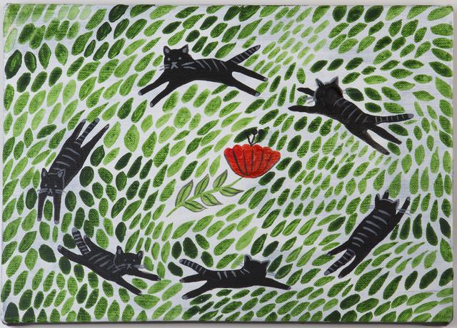 , 'Dancing Kitties,' 2017, Deli Gallery