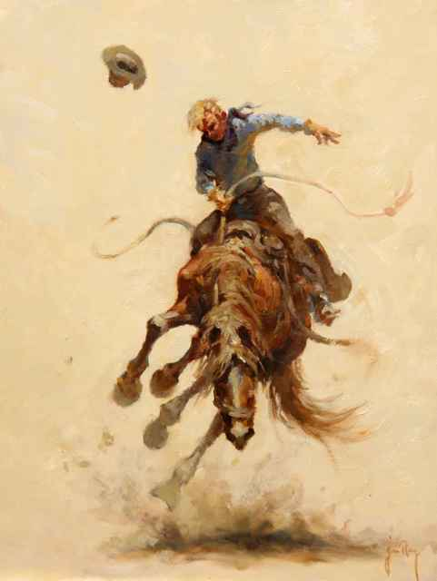 , ' A Rank Bronc,' , Sorrel Sky Gallery