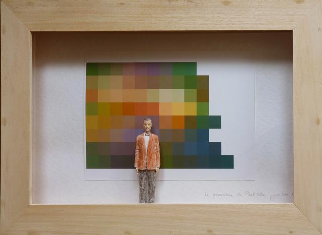 , 'La prémonition de Paul Klee,' 2015, Galerie Marie-Robin