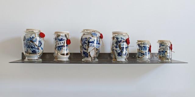 , 'Memory vessel drug jars,' 2018, Galerie Ron Mandos