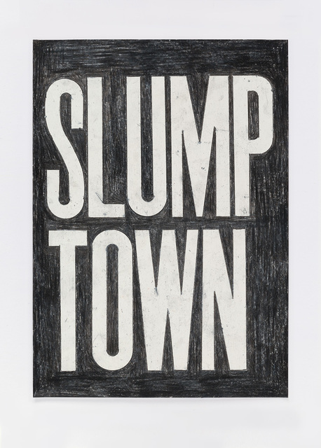 , 'Untitled (slump town) 10.3.16,' 2016, Ingleby Gallery