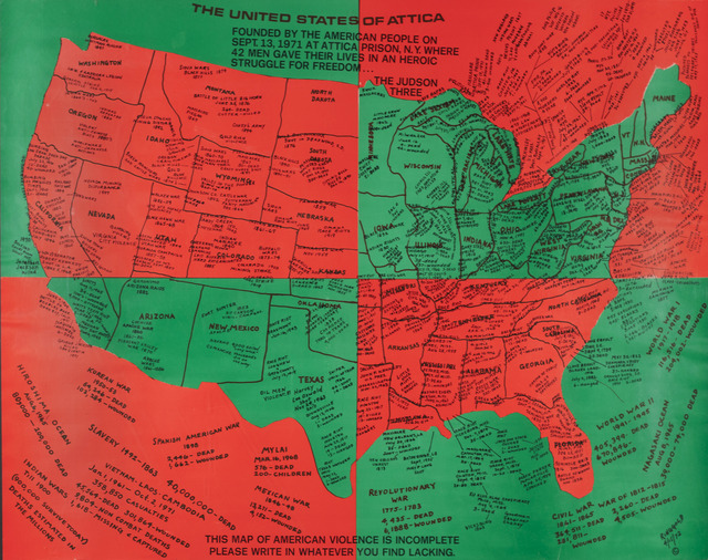 , 'United States of Attica,' 1971-1972, ACA Galleries