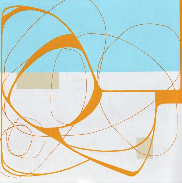 , 'Orange Sky,' 2017, Slate Contemporary