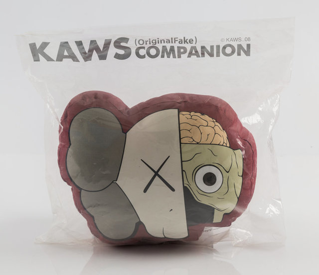 KAWS, 'Dissected Companions, set of two pillows', 2008, Other, Plush pillows, Heritage Auctions