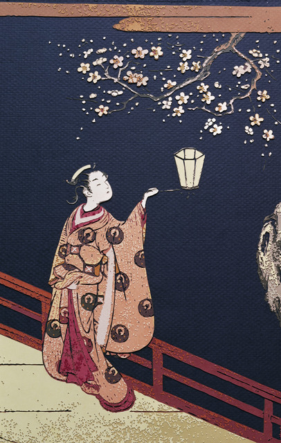 , 'Plum Blossom Viewing at Night, after Harunobu,' 2010, galerie nichido / nca | nichido contemporary art