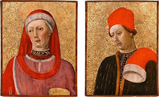 , 'Saint Cosmas and Saint Damian,' 1454-1458, M.S. Rau Antiques