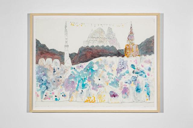 , 'Cabaret Crusades Drawing #316,' 2018, Lia Rumma
