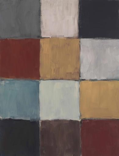 Sean Scully, 'Checker Blue', Christie's