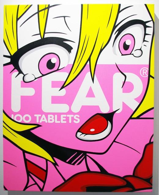 , 'FEAR (Pink),' 2018, Vertical Gallery