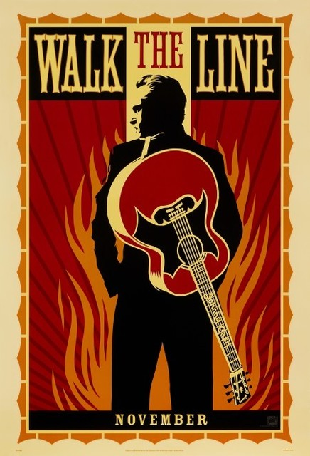 Shepard Fairey, 'Walk the line Poster', 2005, Posters, US Teaser One Sheet, Style A, artrepublic
