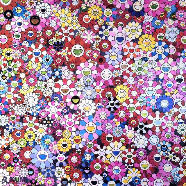 Takashi Murakami, 'Shangri-la Shangri-la Shangri-la Pink', 2016, Kumi Contemporary / Verso Contemporary
