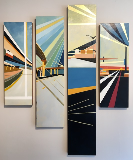 , 'Murmurs of Life 7, 5, 4, 8,' 2017, Miller Gallery Charleston