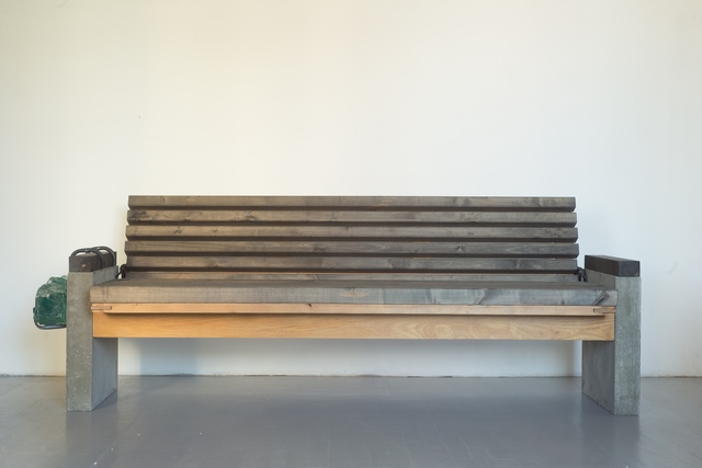 , ' A bench for homeless,' 2016, Galerija VARTAI