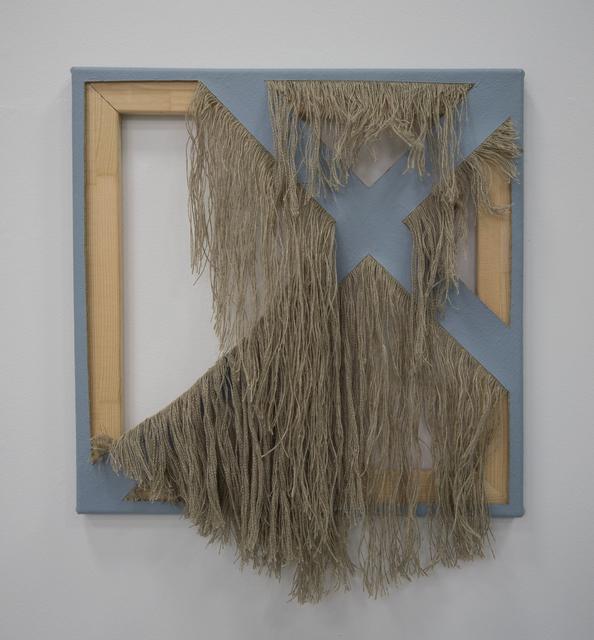 , 'Cutting Grey,' 2018, Sebastian Fath Contemporary