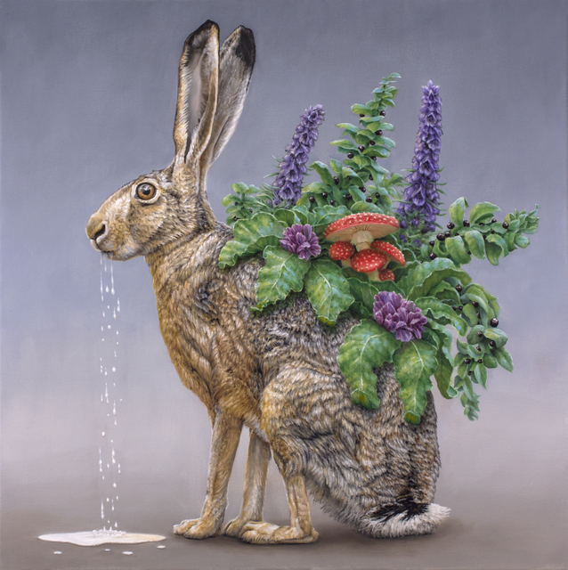 , 'Milk Hare,' 2019, Haven Gallery