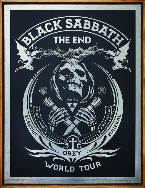 , 'Black Sabbath The End,' 2016, Underdogs Gallery
