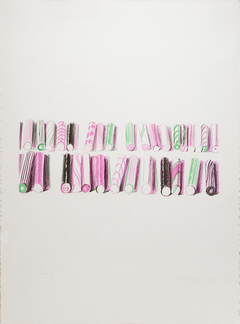 , 'Candy Stick Rows,' 1980, Paul Thiebaud Gallery