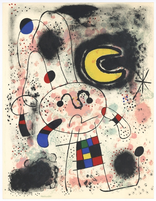 Joan Miró, 'Untitled', 1953, Artsnap