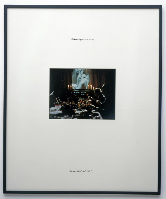 , 'Between Anguish and Desire - Between Vomit and Thirst,' 2004, Nadja Vilenne