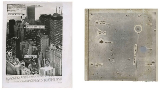 , 'TQ 5/6: Center of Pope's Activities/Apollo 10 Proposed Approach and Landing Site,' 1965/1969, Moss Bureau