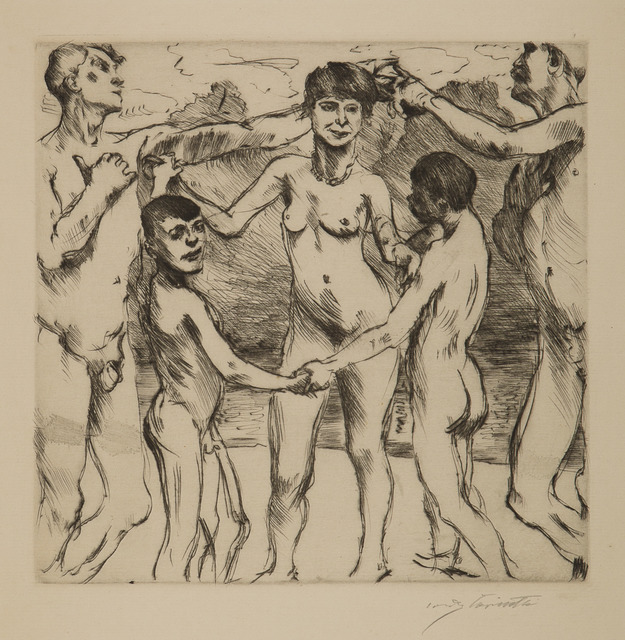 , 'Tanzende Am Strande (Dancing on the Beach),' 1917, Childs Gallery