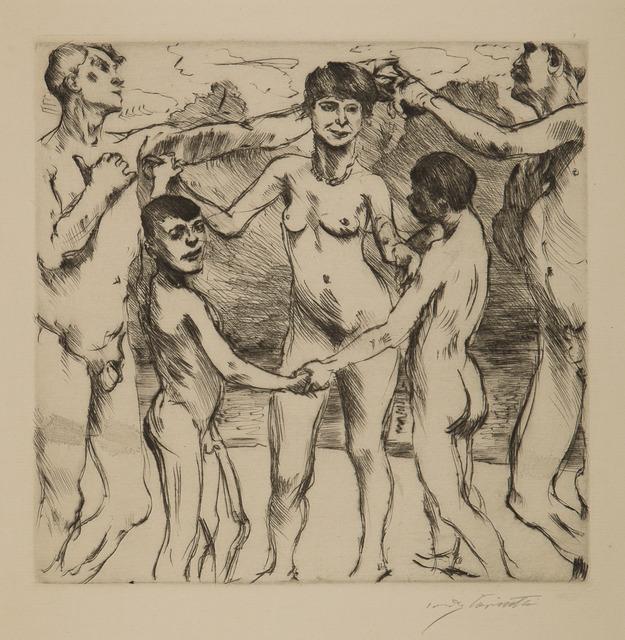 Lovis Corinth, 'Tanzende Am Strande (Dancing on the Beach)', 1917, Childs Gallery