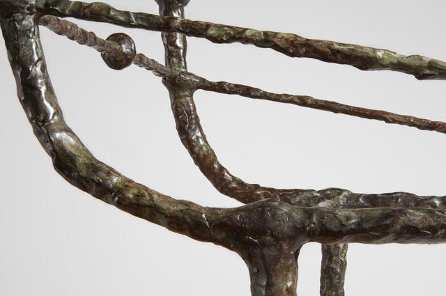 Diego Giacometti, 'Table berceau, première version', designed ca. 1963, Design/Decorative Art, Patinated bronze, glass, Phillips