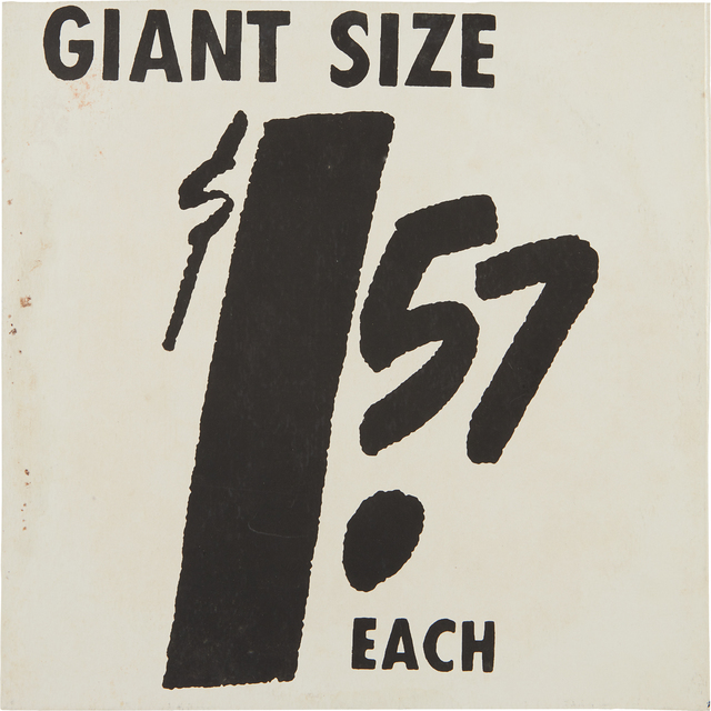 Andy Warhol, 'Giant Size', 1963, Phillips