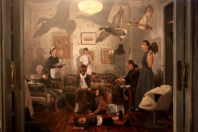 , 'Volar es casi lo mismo que caer,' 2018, Galeria Contrast