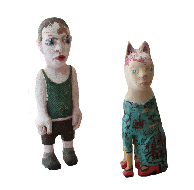 , 'Four Eyes and Cat Princess,' ca. 2015, Eclectica Galleries